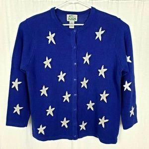 The Quacker Factory Star Cardigan